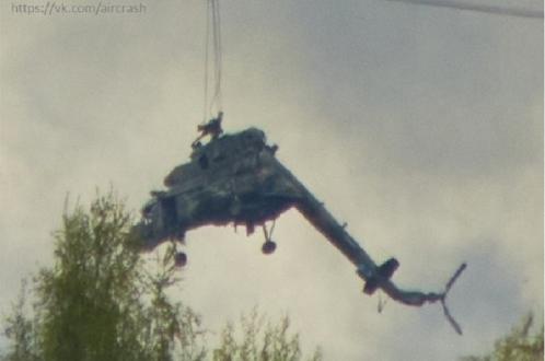 Погиб экипаж Ми-8