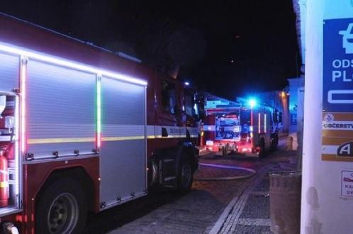 Пожар в посольстве США в Чехии