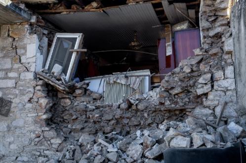 Землетрясение от Ларисы до Афин