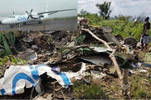 Российский экипаж Ан-26 погиб в Африке