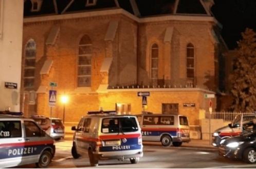 Вооруженный налет на церковь в Австрии