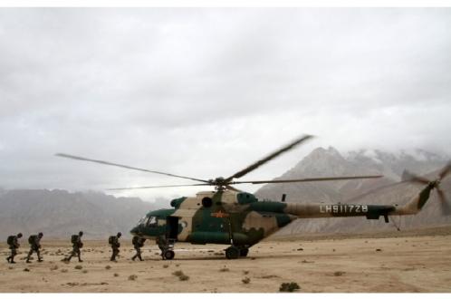 Китайские войска прибывают в Забайкалье