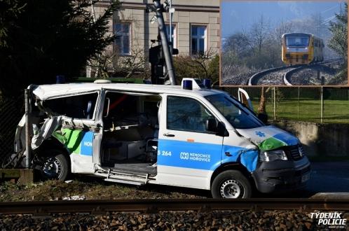 Пациент скончался от столкновения с поездом