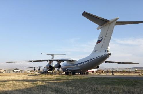 Грузия открыла воздушный коридор для миротворцев РФ