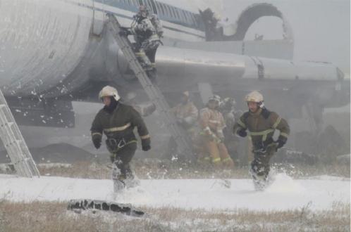 Аварийная посадка Boeing 767 в Барнауле