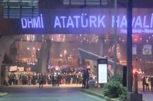 Стрельба и погоня в аэропорту Стамбула