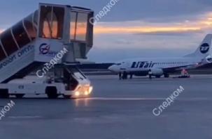 Boeing три часа кружил, чтобы вернуться в точку взлета