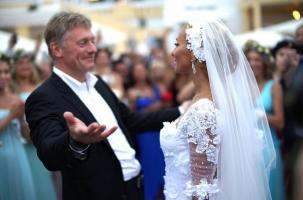 Свадьба года: пресс-секретарь президента и фигуристка