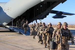 Немецкие солдаты уходят из Ирака