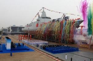 Китай построил свой самый большой эсминец