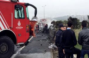 Четверо россиян погибли в Стамбуле в катастрофе вертолета