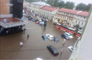 Потоп в Нижнем Новгороде. Штормовое лето-2017