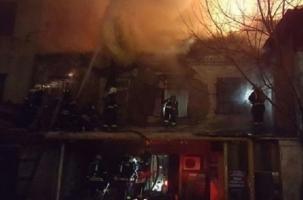 Пожар в Москве: 3000 кв метров огня и 12 жертв