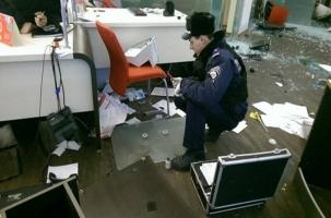 В Киеве разгромили два российских банка