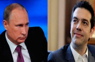 Президент России и премьер Греции и  обсудили