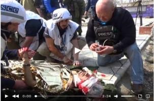 На востоке Украины тяжело ранен журналист «Звезды»