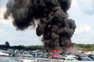 В Англии разбился самолет семьи бен Ладен