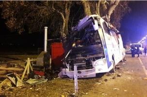 Автокатастрофа в Турции: 11 погибших, 46 раненых