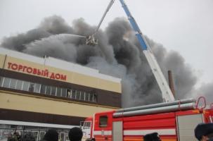 В Казани сгорел «Адмирал»