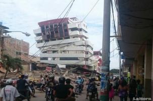 Землетрясение в Эквадоре: погибли сотни людей
