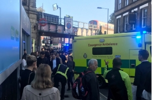 Лондон: взрыв, паника в метро, раненые
