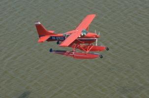 Катастрофа: столкнулись вертолет и самолет-амфибия