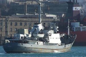 Российский корабль-разведчик затонул рядом с Турцией