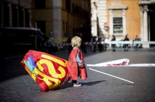 В Риме с протестом вышел миллион человек
