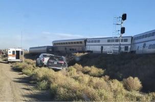 Катастрофа пассажирского поезда в Монтане