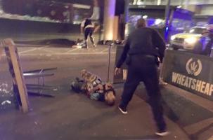 Атака на Лондонском мосту. Террористы давили и резали людей