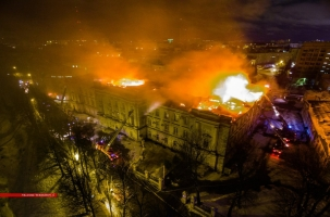 Тверь: в полночь загорелась детская больница