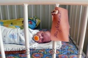 Младенца нашли февральским утром в мусоре