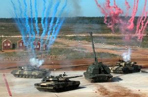 Мировой танковый биатлон стартовал