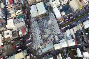 17-этажный дом упал вместе с людьми