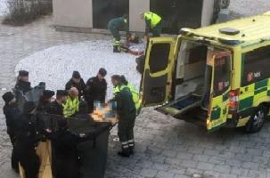 Взрыв у метро в Стокгольме