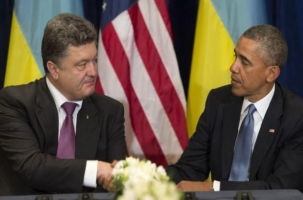 Порошенко поехал на встречу с Обамой в Варшаву