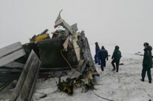 Под Орском разбился Ан-2