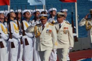 Севастополь встретил самый военно-морской день