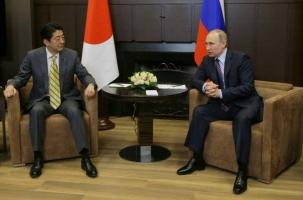 Что обсуждали Путин и Абэ в Сочи