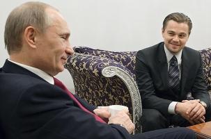 Ди Каприо: интересно сыграть Путина, Ленина, Распутина