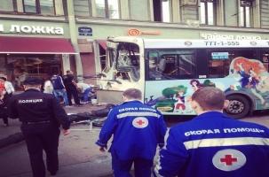 Крупное ДТП на Невском: 24 пострадавших