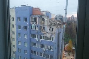 Взрыв газа снес три этажа. В Рязани введен режим ЧС.