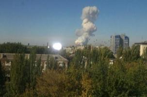 Гуманитарная колонна №3 в городе под обстрелом