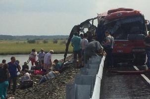 Еще одно лобовое столкновение: 16 жертв Хабаровского ДТП