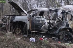 Машина ОБСЕ подорвалась на мине в ЛНР