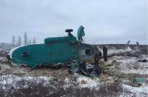Ямал: катастрофа Ми-8, погибли 19 человек.