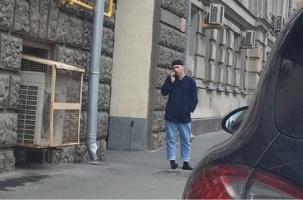 Ножевая атака против полицейского в центре Москвы