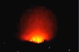 Мощный взрыв на химзаводе в Донецке