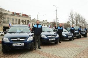 Почта Крыма получила 205 новых автомобилей