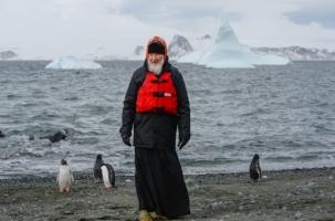 Патриарх Московский побывал в Антарктиде